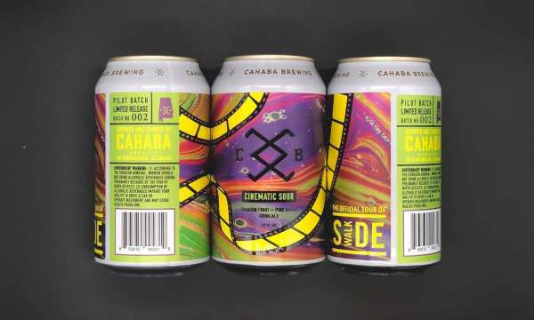 New Birmingham Beer called Cinematic Sour by Cahaba Brewing Co