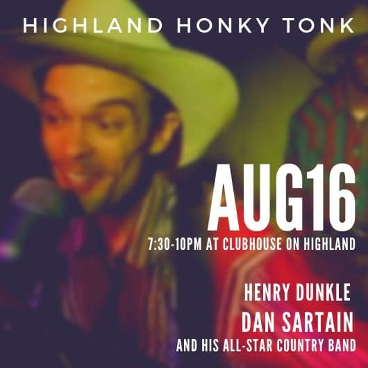 Highland Honky Tonk: A community music and dance night!