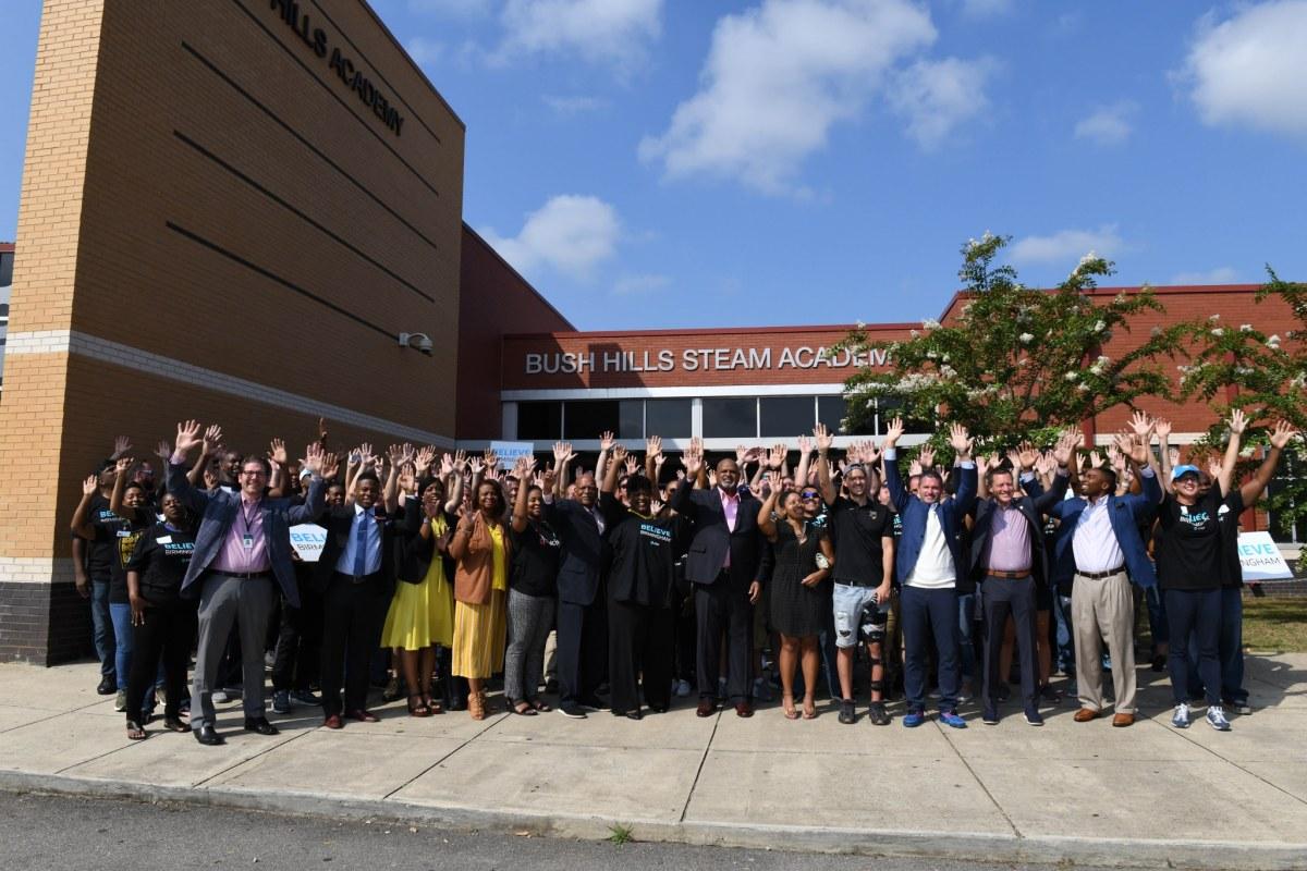 AT&T launches Believe Birmingham initiative with Birmingham City Schools
