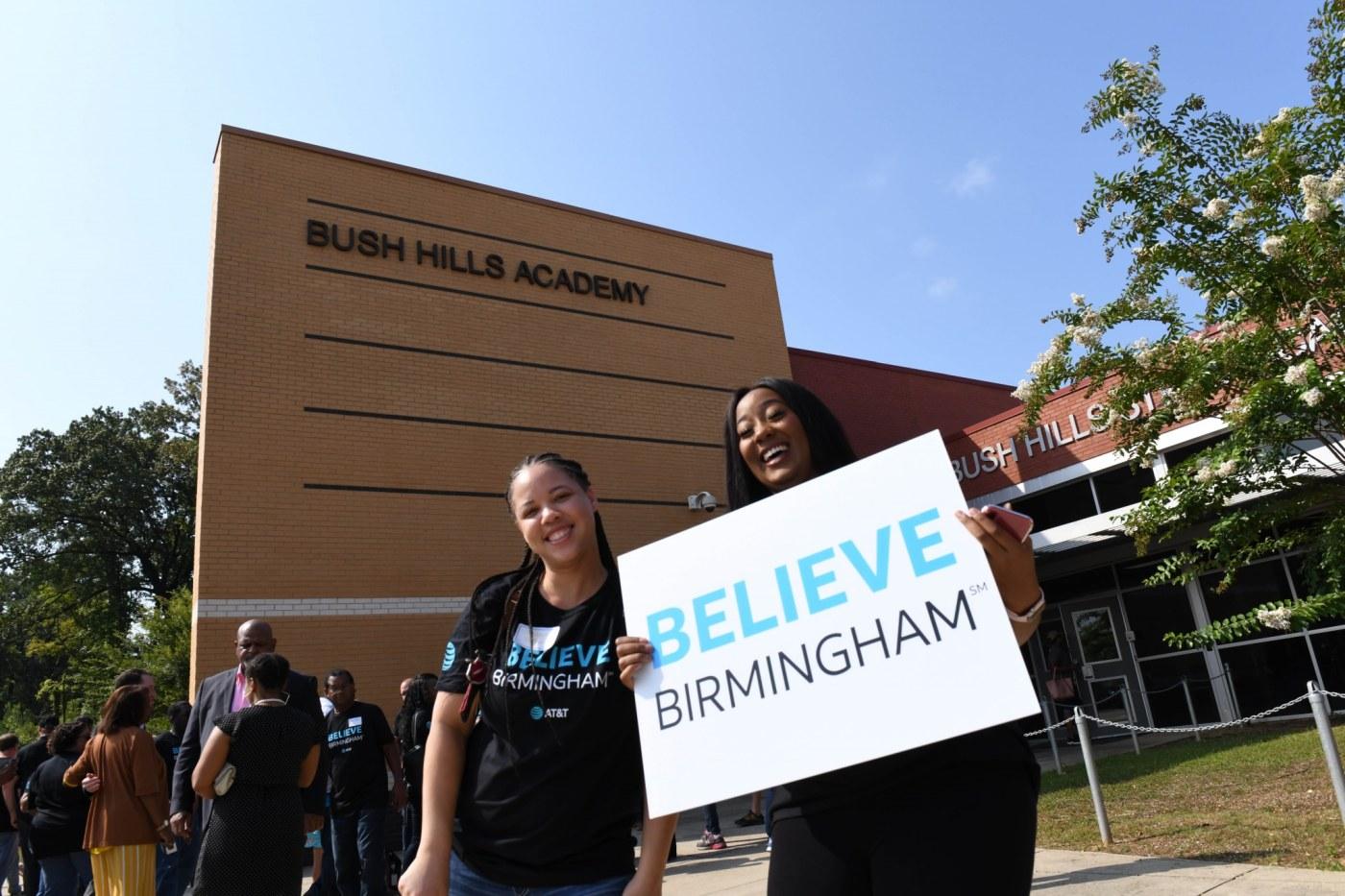 I believe in Birmingham