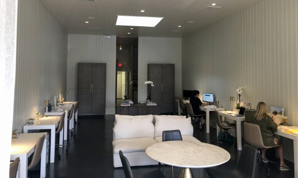 Spacious interior within ARC Realty Gallery Brokers
