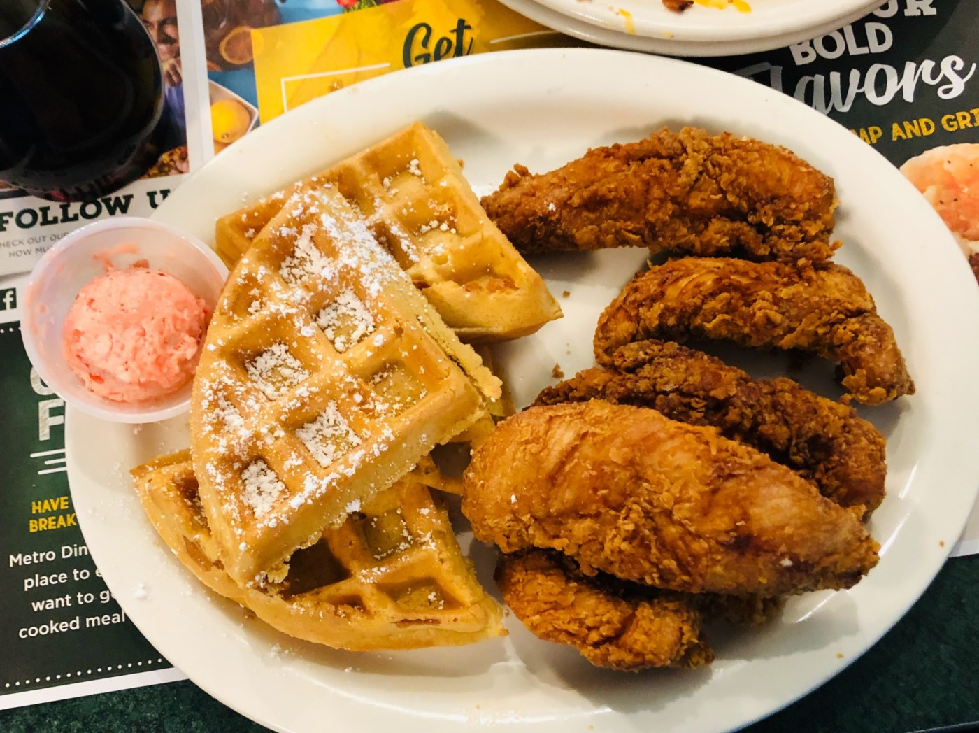 Metro Diner Chicken and Waffles