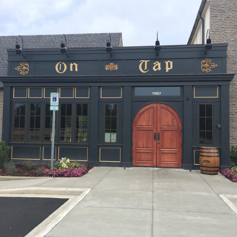On Tap Sports Cafe at The Bray in Liberty
