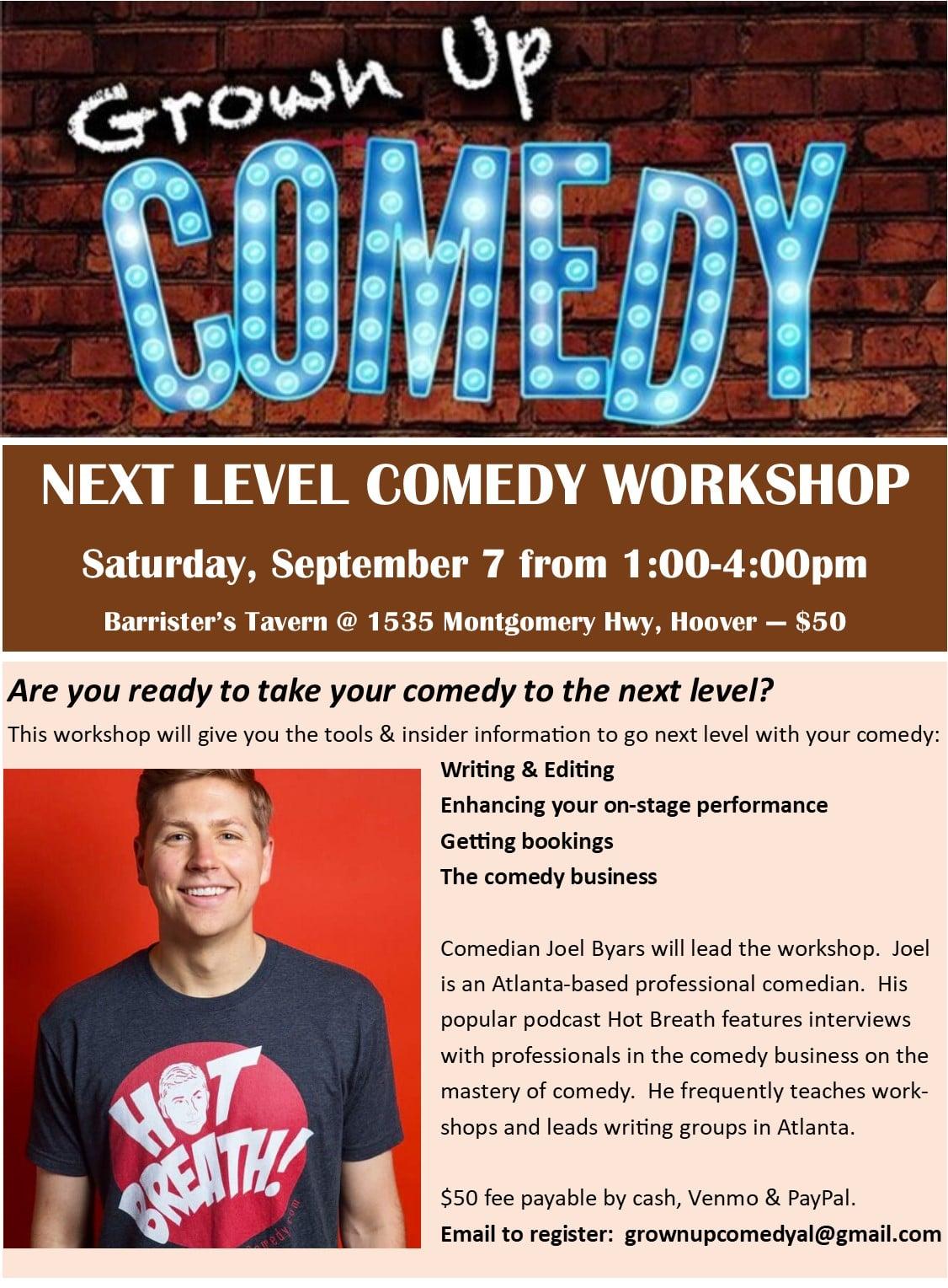 Next Level Comedy Showcase