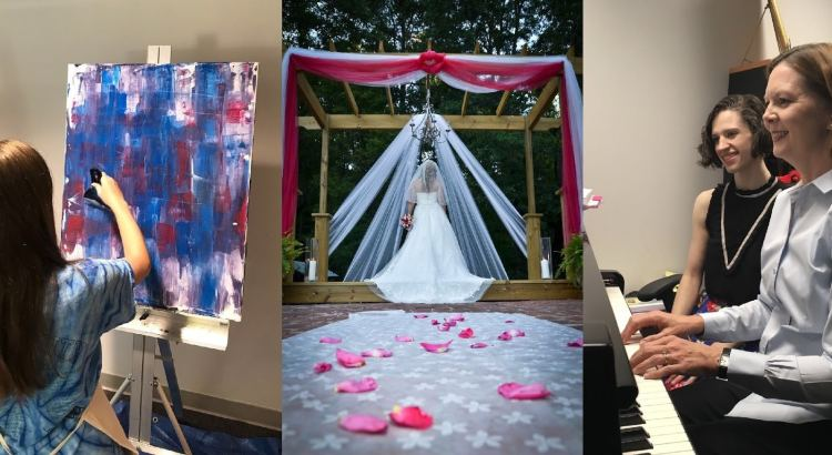 Art Wedding, Photography and Piano classes at Samford Academy of Arts