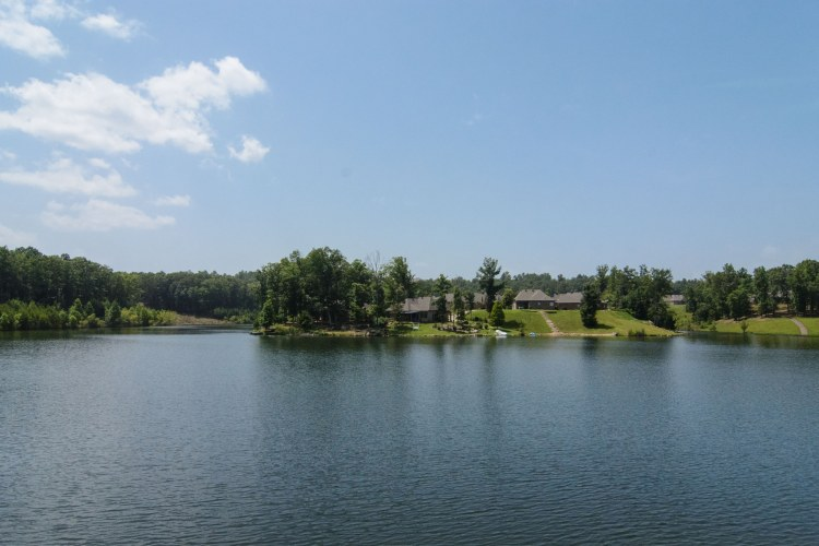 You can fish on all five lakes at Carrington Lakes.