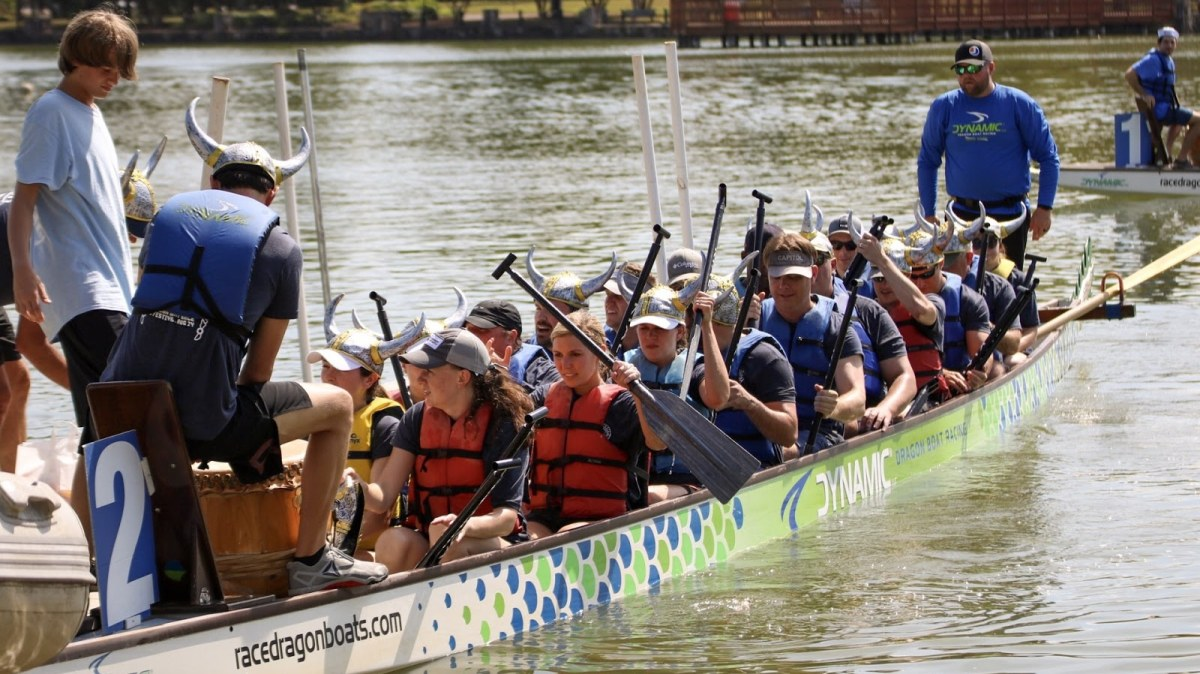 Recap: here's what you missed during Birmingham's first Dragon Boat Race and Festival at East Lake Park