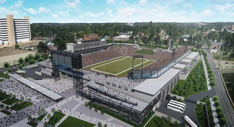 The new Protective Stadium is gonna be pretty.