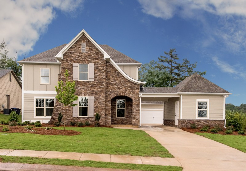 This is one of the types of homes available at Carrington Lakes.