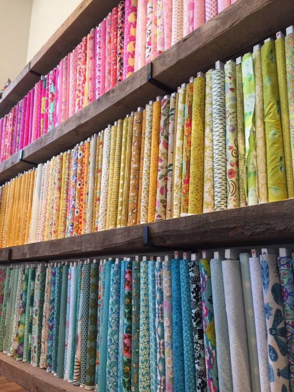 Fabric in Cahaba Heights at In the Making.