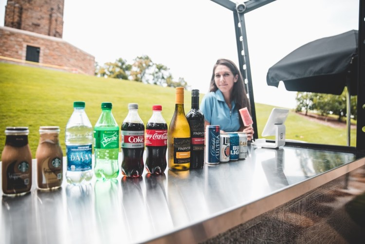 New beer and wine options at Vulcan Park and Museum snack and beverage kiosk