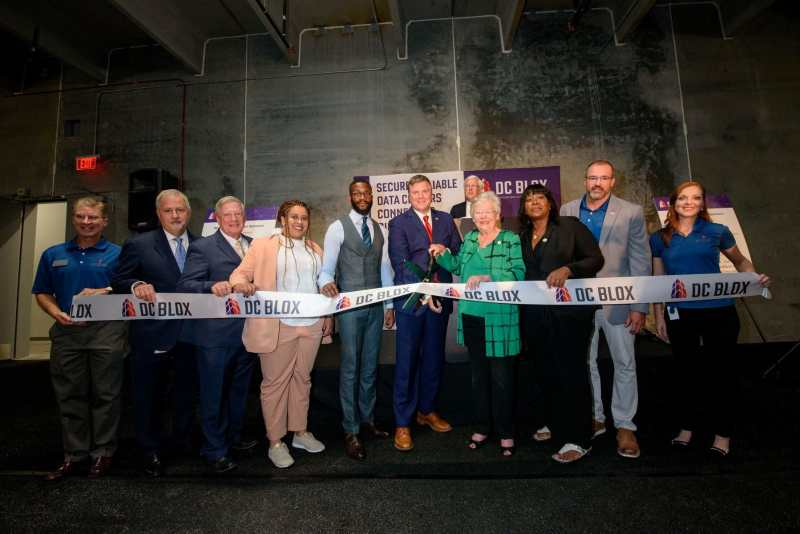 DC BLOX's newest data center opened in TItusville in the Summer of 2019.