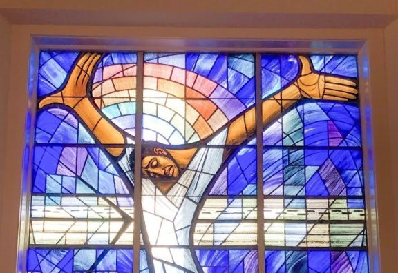 The Wales Window at 16th Street Baptist Church, Birmingham, AL