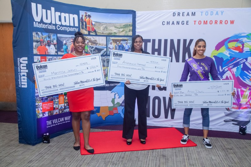 Winners of THINK BIG NOW pitch competition.