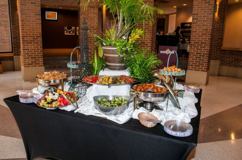 Food spread at the Birmingham Civil Rights Institute. There will be similar food at Taste of Freedom.