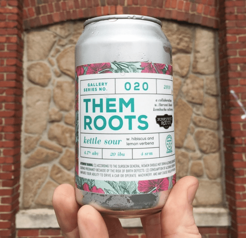 Them Roots Kettle Sour is a collaboration between Harvest Roots and TrimTab
