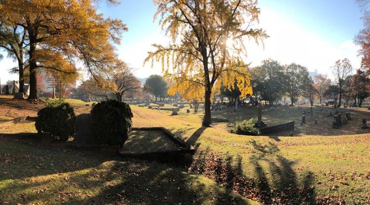 Oak Hill Cemetery.