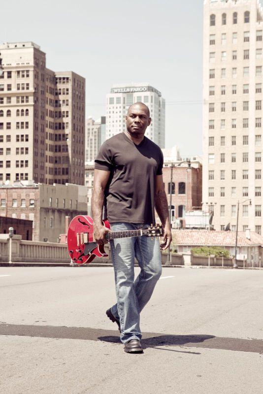 Eric Essix, jazz guitarist, in Birmingham