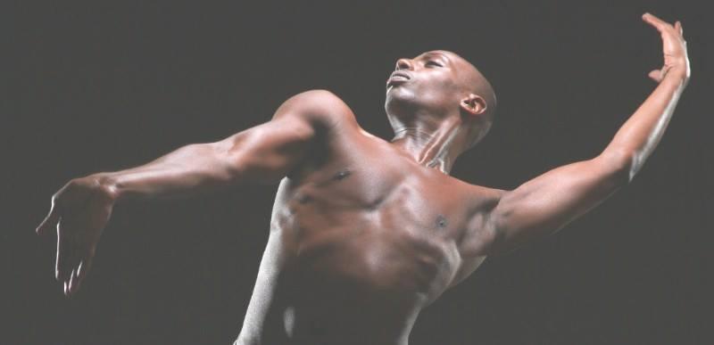 Germaul Barnes is one of three male dancers in Birmingham we're featuring.
