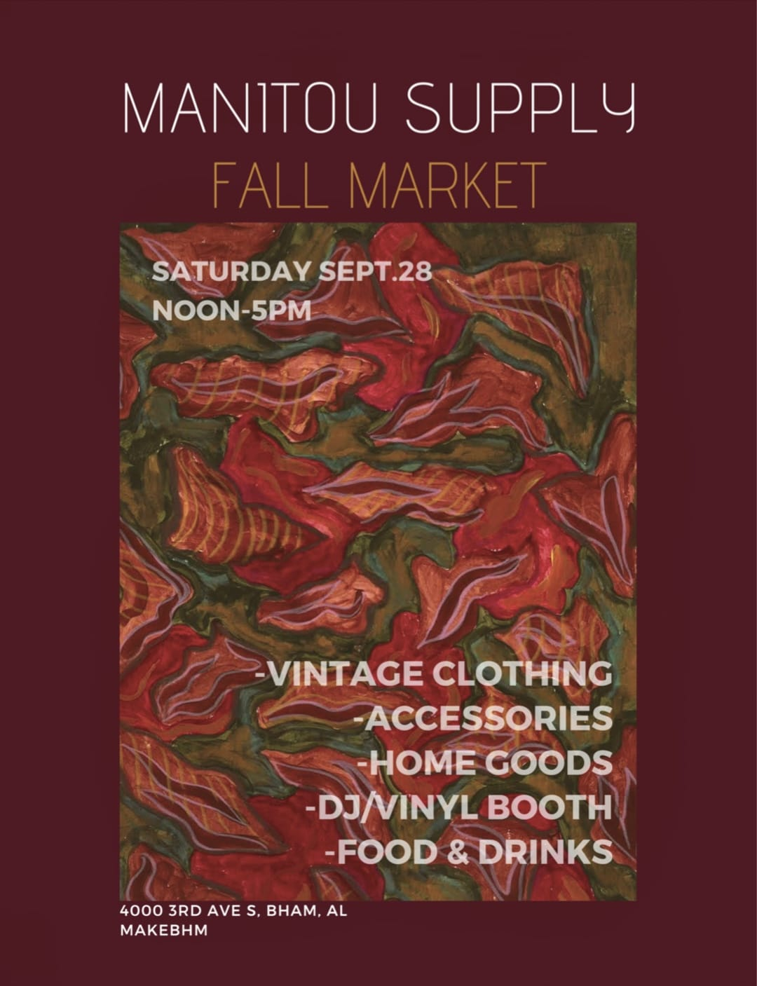 Manitou Supply Fall Market