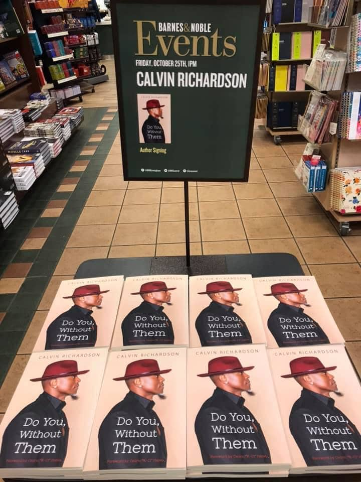 Calvin Richardson book signing