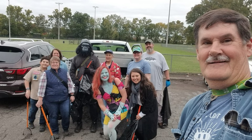 Cache in Trash Out geocaching event