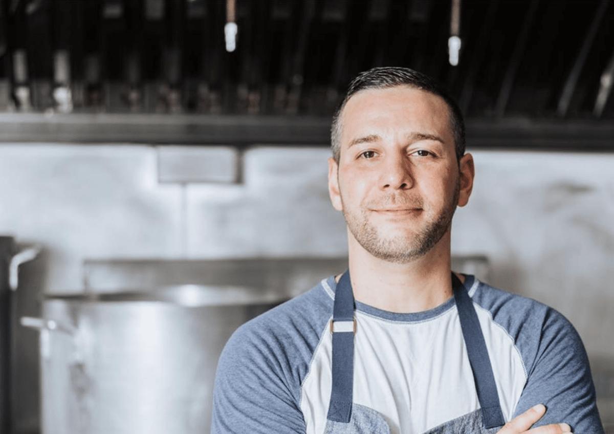 Food Network star Dom Tesoriero visits Birmingham