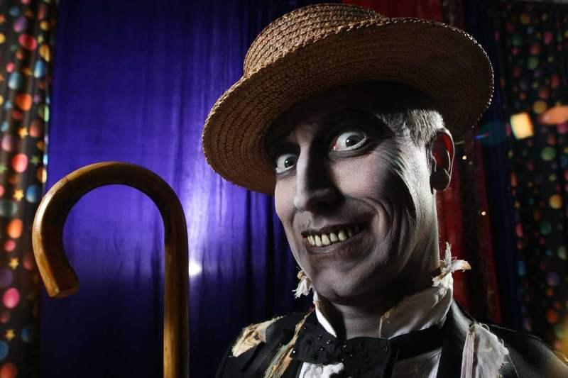 Ghastly Man Smiles