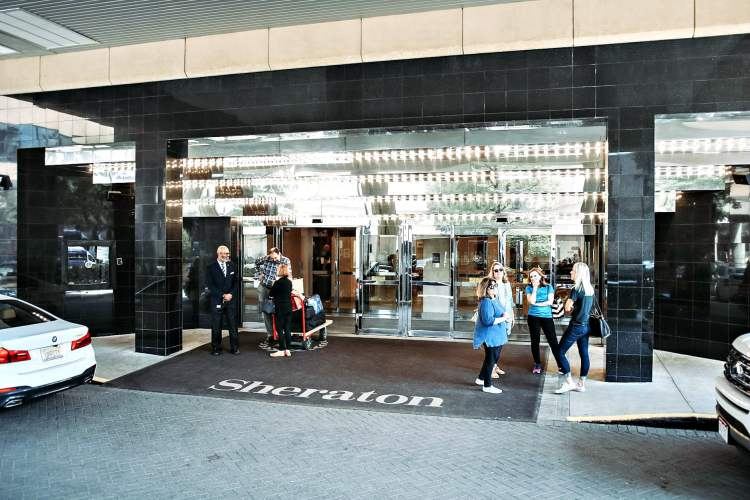 Entrance to The Sheraton Birmingham