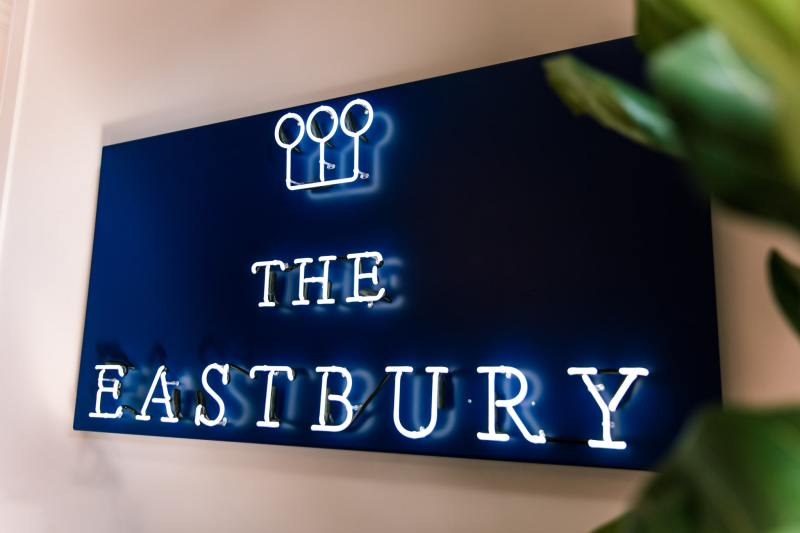 Sign for The Eastbury