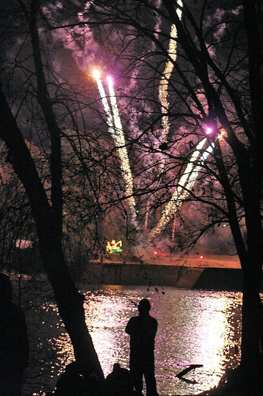 Birmingham, Christmas on the Coosa, Coosa River, Wetumpka