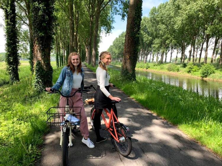 Content producer at Bham Now on a bike in Europe.