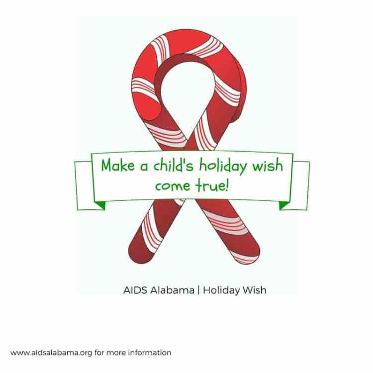 Holiday Wish program for AIDS Alabama