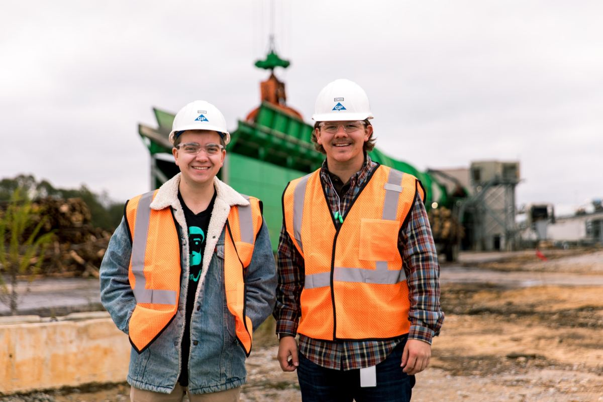 Behind the scenes at the Georgia-Pacific pulp mill in Monroe County. See what we learned