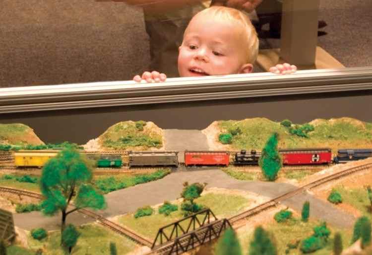 Birmingham, McWane Science Center, Magic of Model Trains, holidays, winter wonderland