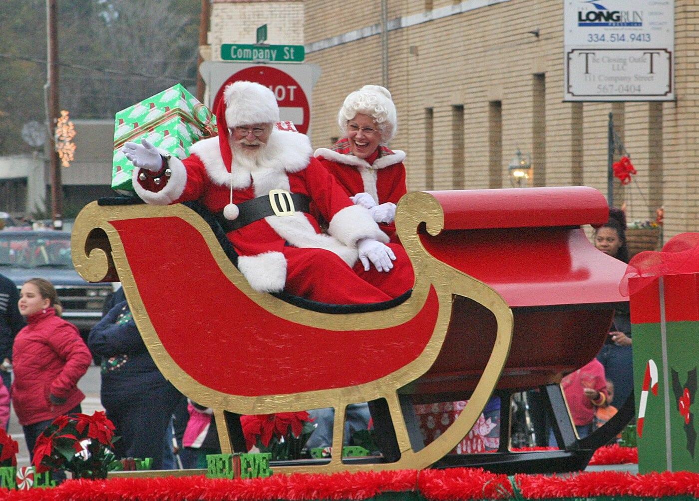 Birmingham, Christmas on the Coosa, Wetumpka, Coosa River