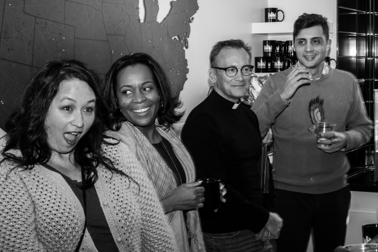 Dr. Adrienne Starks of STREAM Innovations at Forge with coworkers