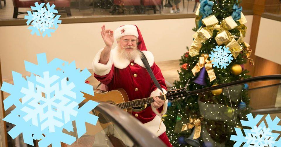 Singing Santa's Arrival Celebration