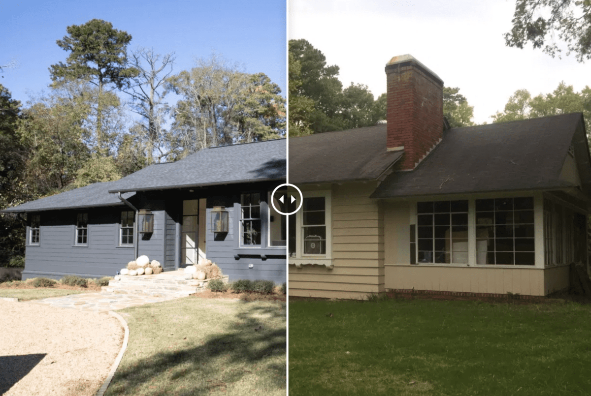 These before-and-after photos of a Birmingham home renovation will blow you away