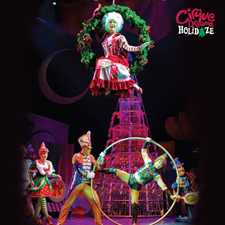 Cirque Dreams Holidaze is one of the other shows besides Trans-Siberian Orchestra at The BJCC