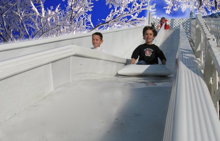 Birmingham, Magic Ice USA, ice skating, ice skating rink, ice slide, winter adventure, Brrrmingham, Railroad Park