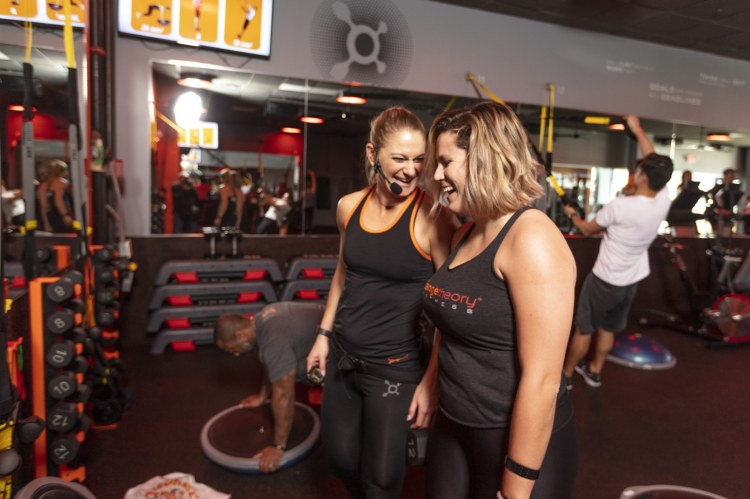 Orangetheory coaches