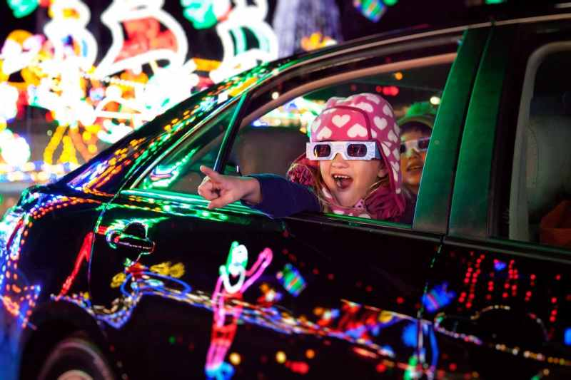Birmingham, Shadrack's Christmas Wonderland, Birmingham Race Course, lights, Christmas lights, holiday lights