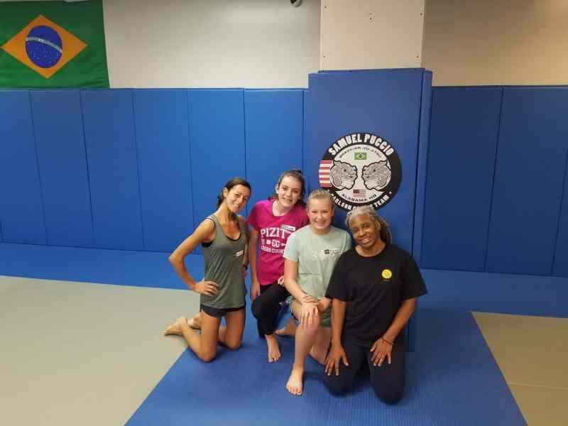 Anestea Services self-defense class