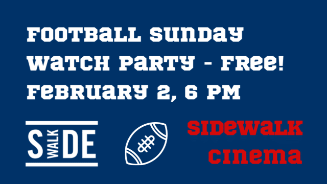 Football Sunday Watch Party