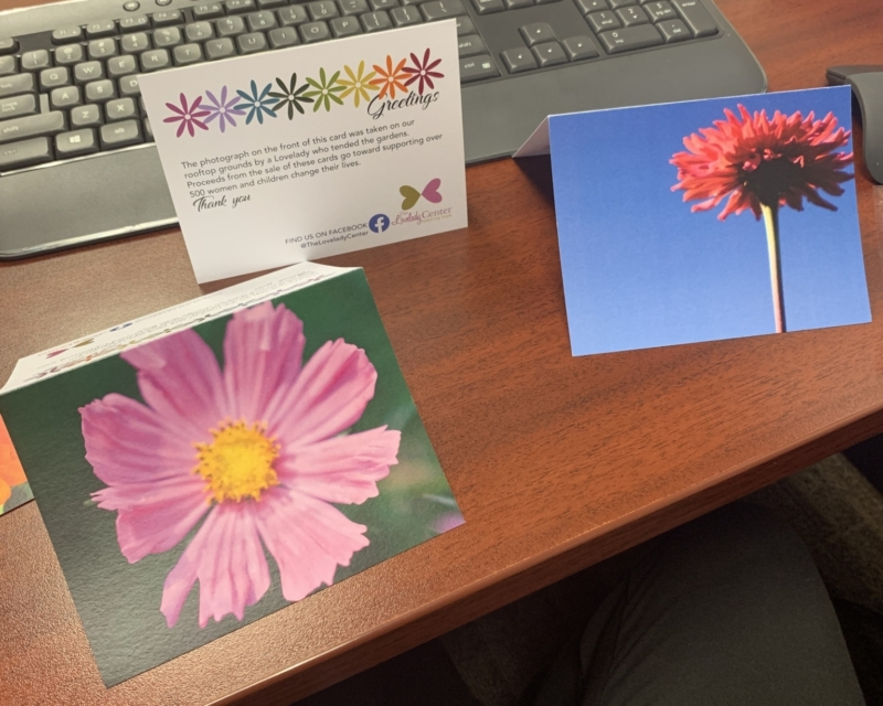 thank you cards from Lovelady Center