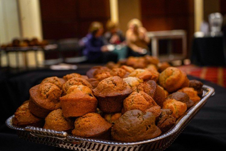 Muffins at an ASO Coffee Concert