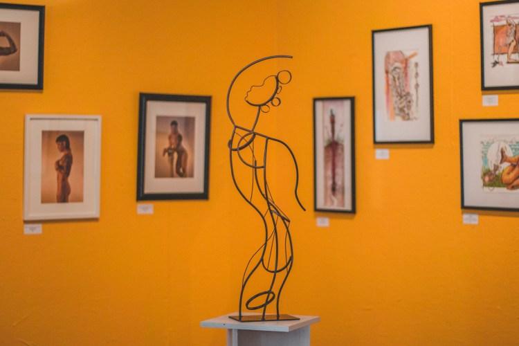 Willie William's, Jr. art at Studio 2500