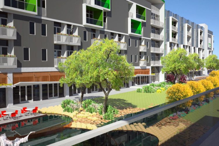 Lakeview Green rendering