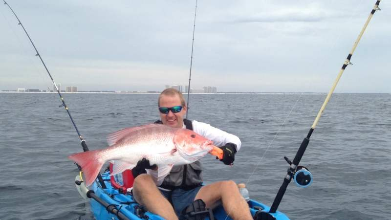 Ryan Robinett fishing
